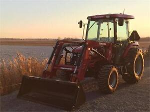 Tracteur Mahindra 2555 hst Cabine Chargeur