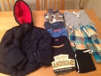 Boy's clothes small bundle 6-7 years including John Lewis coat