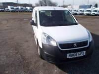 Peugeot Partner 715 S 1.6 Bluehdi 100 Crew Van DIESEL MANUAL WHITE (2016)