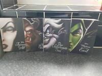 Disney villain collection books