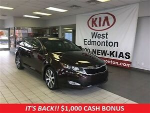 2011 Kia Optima EX Luxury, Naviagtion, Heated and Cooled Seats!