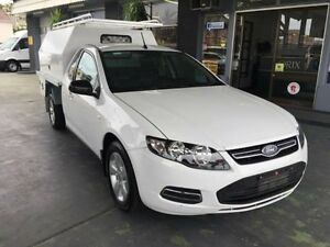 2012 Ford Falcon FG MkII ECOLPI White 6 Speed Automatic 2D CAB CHASSIS Hamilton Newcastle Area Preview