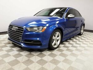 2015 Audi S3 TECHNIK | AWD | LED Lights | Blind-spot | 2 Sets o