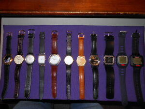 Various Watches with Leather band Gatineau Ottawa / Gatineau Area image 1