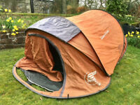 QUECHUA 2 seconds pop-up camping tent - 3 man