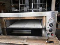Pizza Oven, Electric Single Deck