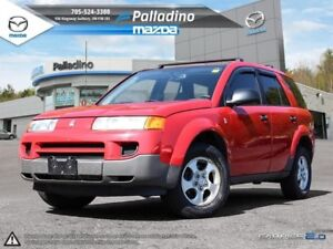 2003 Saturn VUE SELF CERTIFY