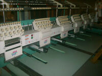 embroidery Machines and supplies for sale