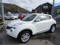 Nissan Juke ACENTA SPORT 5d 117 BHP part exchange welcome (white) 2011