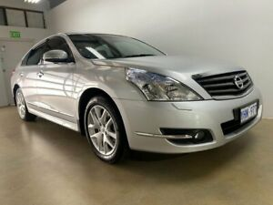 2011 Nissan Maxima J32 250 ST-L Silver Continuous Variable Sedan Phillip Woden Valley Preview