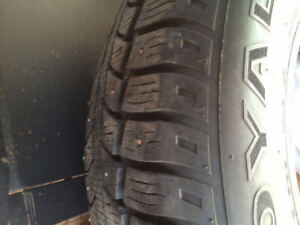 Selling 4 205/50/17 studded tires