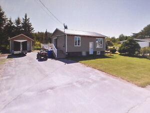 Maison de campagne avec garage