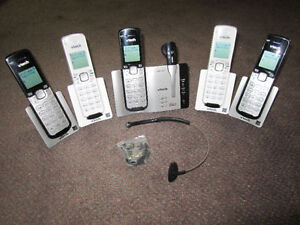 Home Phones - VTech Cell-Connect Phone Systems - on Choice Kitchener / Waterloo Kitchener Area image 4
