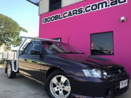 2003 Holden Ute VY II Purple 4 Speed Automatic Utility