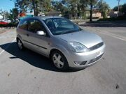 2004 Ford Fiesta WP Zetec Moondust Silver 4 Speed Automatic Hatchback Alberton Port Adelaide Area Preview