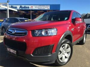 2014 Holden Captiva CG MY14 7 LS (FWD) Burgundy 6 Speed Automatic Wagon Blacktown Blacktown Area Preview
