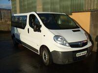 Vauxhall Vivaro Minibus 12 seater