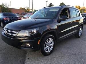 2015 Volkswagen Tiguan A/C MAGS 86,000KM CRUISE BLUETOOTH