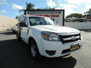 2009 Ford Ranger PK XL White 5 Speed Manual Utility Caboolture South Caboolture Area Preview