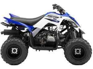 2016 Yamaha Raptor 90 $3299.00+HST+Fuel+License