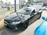 2010 Ford Falcon FG XR8 Black Sports Automatic Utility Lansvale Liverpool Area Preview