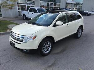 2007 FORD EDGE SEL AWD*NAVI*LEATHER*PANO*WHITE*LOADED