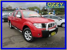 2008 Nissan Navara D40 Outlaw (4x4) Red 6 Speed Manual Dual Cab Pick-up Penrith Penrith Area Preview