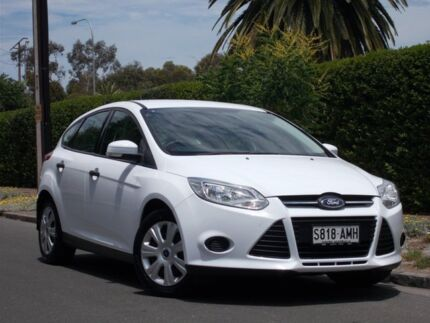 2011 Ford Focus LW Ambiente White 5 Speed Manual Hatchback Thorngate Prospect Area Preview