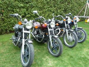 Lot de Honda CB/CM 400/450