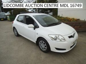 2009 Toyota Corolla Ascent White 6 Speed Manual Hatchback Newington Auburn Area Preview
