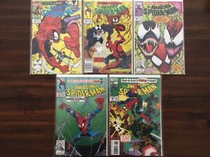 VENOM comic books for sale - 34 in total - $200 for the lot.