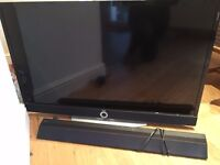 Loewe TV, Loewe Blu Ray player & Sony sound bar