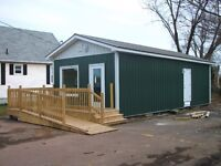 Affordable commercial building and lot