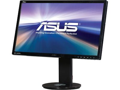 "شاشة ليد  ASUS VG248QE Black 24"" 1ms (GTG) HDMI Widescreen LED Backlight LCD Monitor"
