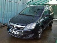 Vauxhall Zafira 1.8 i VVT 16v Design 5dr£5,995 p/x welcome 1 YEAR FREE WARRANTY. NEW MOT