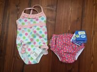 12-18 months swimsuit and 18 months swim nappy both BNWT