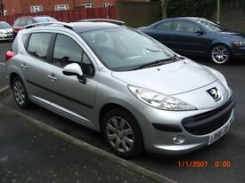 Peugeot 207 SW-S automatic estate.