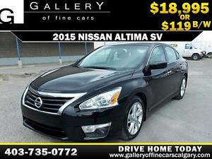 2015 Nissan Altima 2.5 SV $119 BI-WEEKLY APPLY NOW DRIVE NOW