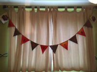 Decoration garlands story time,handmade 50p a flag free postage, 6.00 each garland.