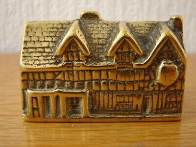 Solid Brass model Shakespeare's House