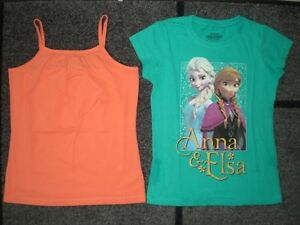 Lot of Two Brand Name Girls Summer Tops,  Size 10 - 12