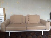 Large fabric sofa. Ikea PS range . Excellent, clean condition. Makes a great single bed too.