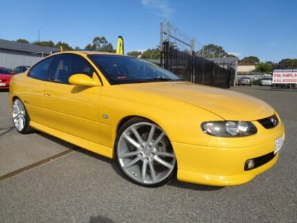 2002 Holden Monaro V2 CV8 Yellow 4 Speed Automatic Coupe Pooraka Salisbury Area Preview