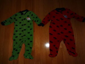 Boys 6 months PJs and outfits