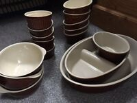 Small amount of Rayware country style Tableware