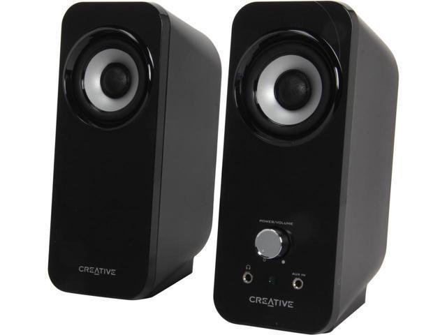 Creative Inspire T12 2.0 Speaker System (2-Piece) Black MF1625