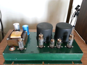 Stereo tube power amplifier project for DIY