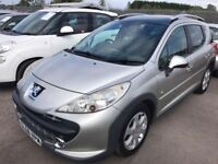 Peugeot 207 SW 1.6 HDi Outdoor Estate 5dr*Diesel*Manual*New Mot*Just serviced*Timing belt changed