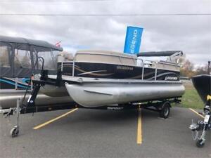 2013 Genesis RE - Used Pontoon Boat