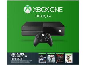 XBOX ONE 500GB CONSOLE WITH WIRELESS CONTROLLER
